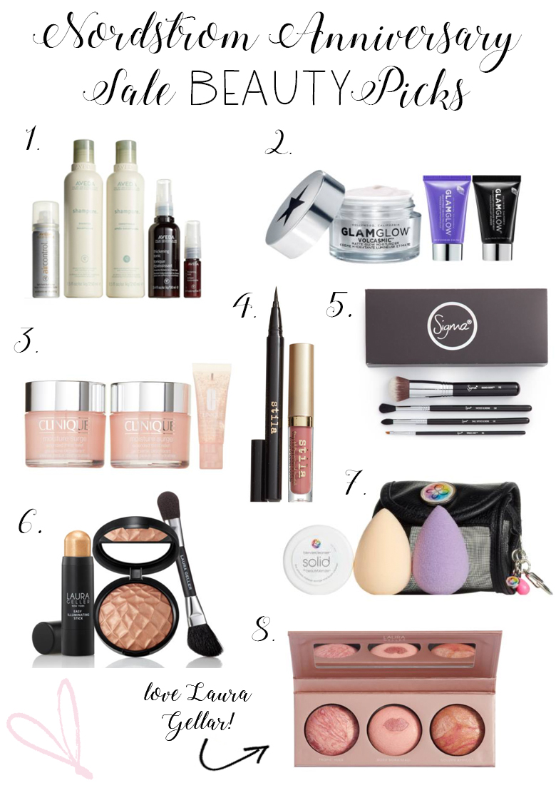 Fashion and Lifestyle blogger ,Savannah Jayne of The Plain Jayne, shares her favorite Beauty Buys from the 2017 Nordstrom Anniversary Sale.