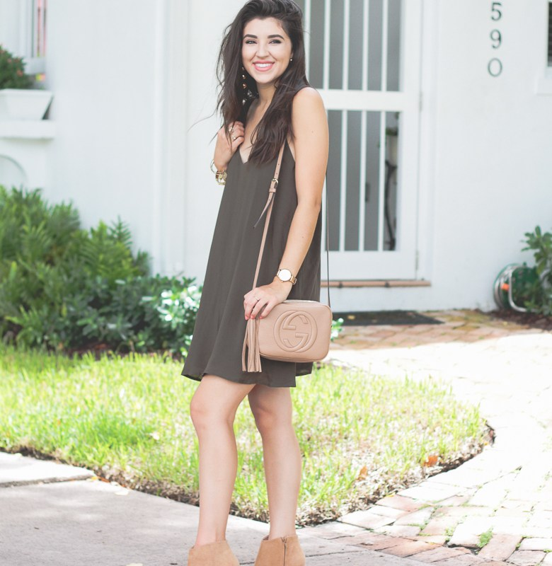 Olive Green on the First Day of Fall