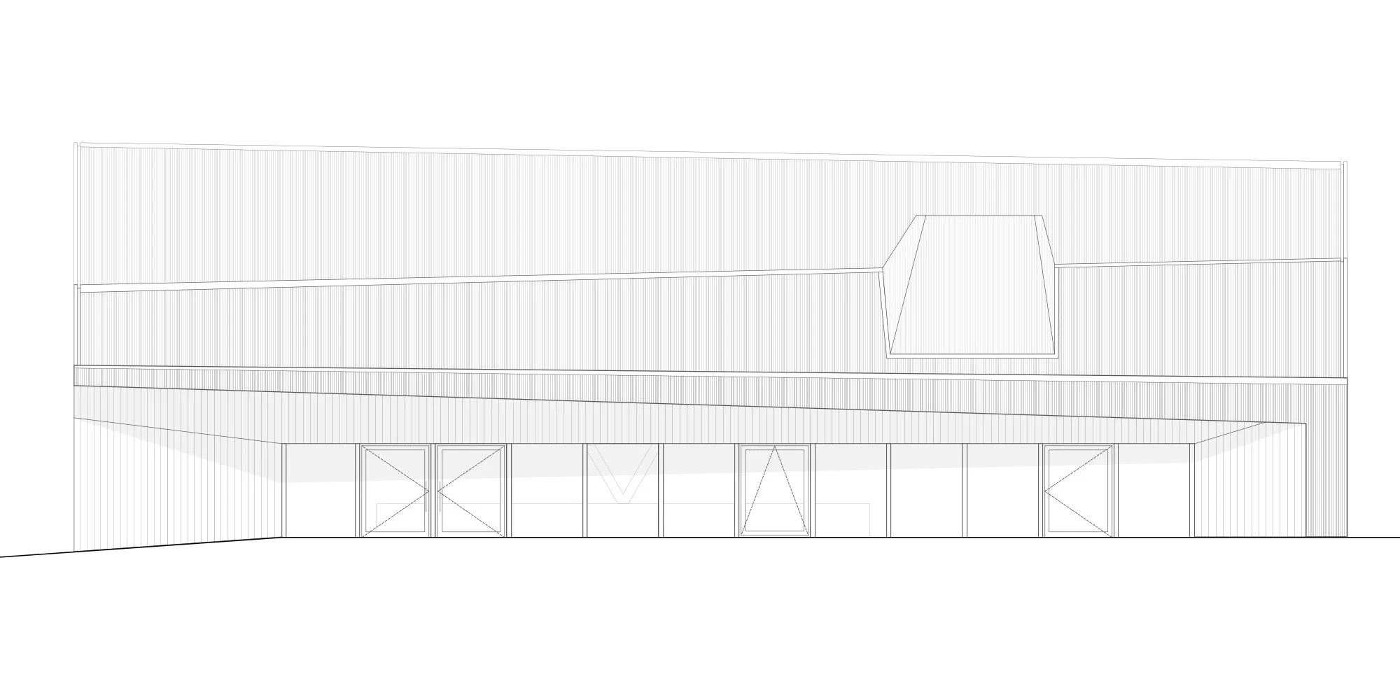 Polyvalent Hall In Le Vaud By Localarchitecture