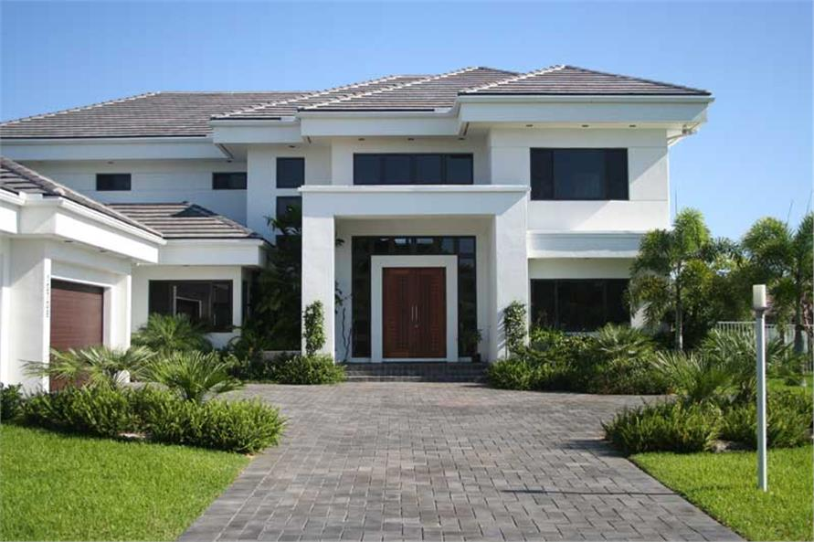 Contemporary Home with 4 Bdrms, 5555 Sq Ft | House Plan ...