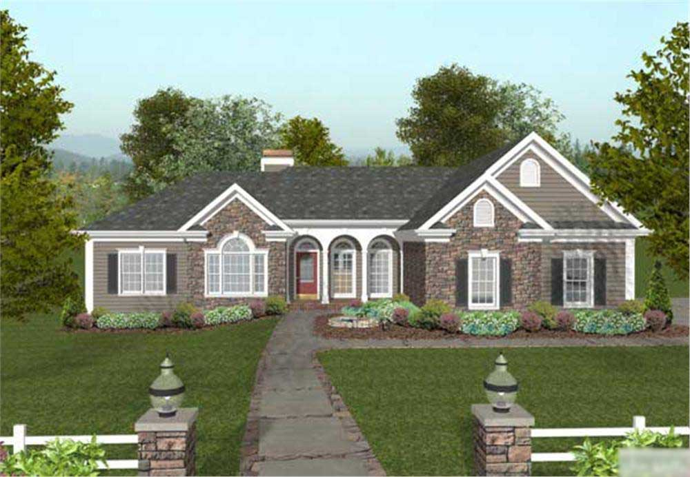 Country Craftsman Home With 4 Bedrms 2000 Sq Ft Plan