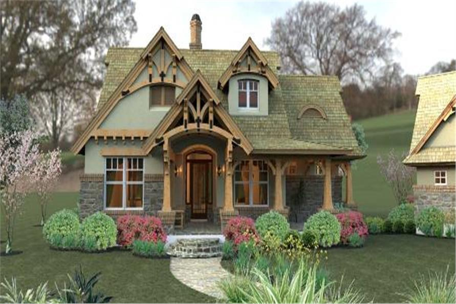 Bungalow House Plan  117 1104  3 Bedrm  1421 Sq Ft Home      117 1104      3 Bedroom  1421 Sq Ft Bungalow Home Plan   117 1104   Main