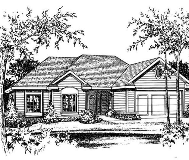 C B  Sq Ft Ranch House Plan   Front