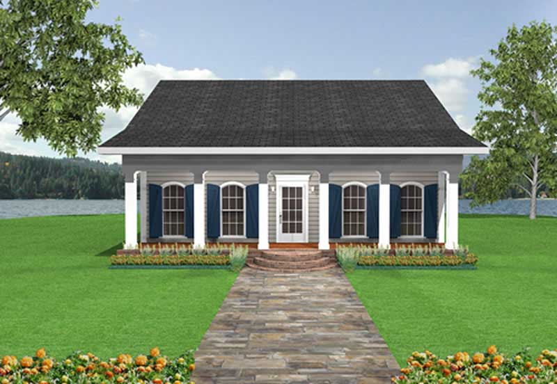 One Floor House Plans Wrap Around Porch