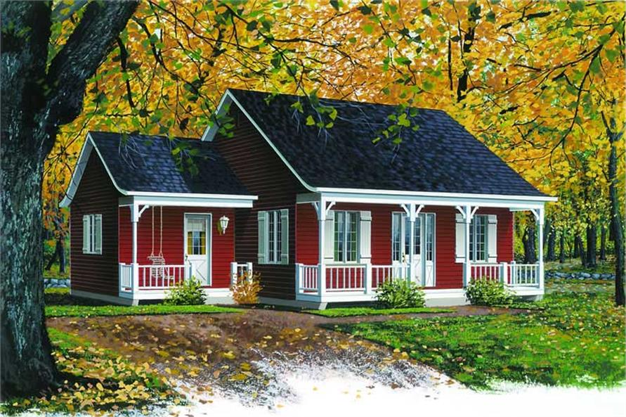 Small Country Ranch Farmhouse House Plans Home Design