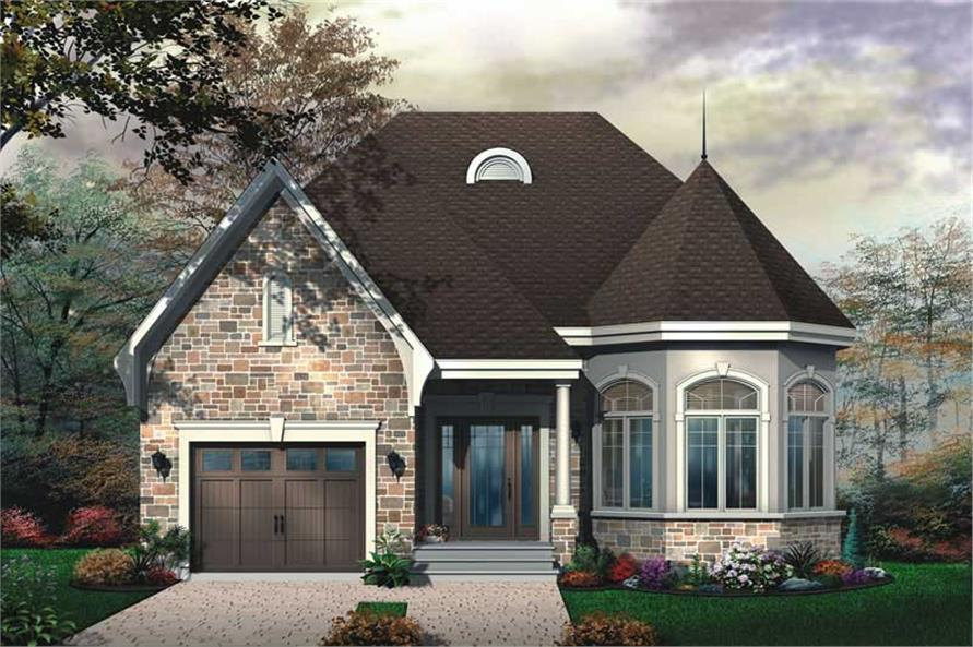 2 Bedrm 1246 Sq Ft Bungalow House Plan 126 1642