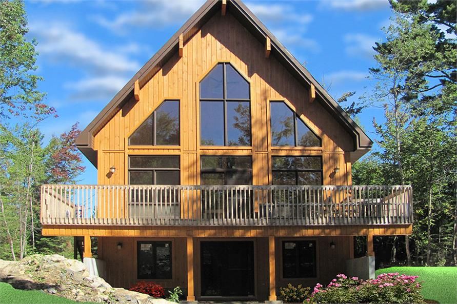 3 Bedrm 1301 Sq Ft Vacation Homes House Plan 126 1890
