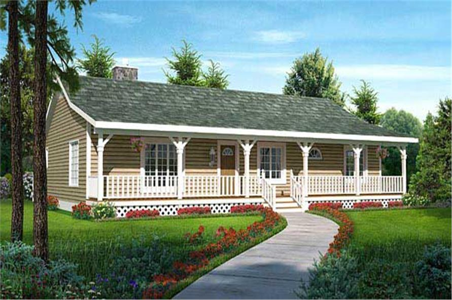 Ranch Craftsman House Plans