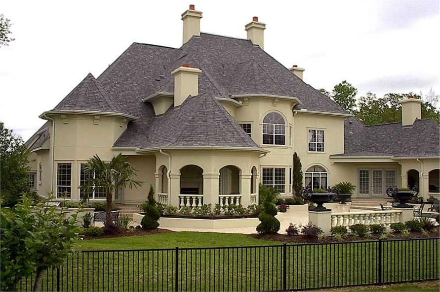 Luxury House Plan  European Home Plan  134 1326  134 1326      Home Exterior Photograph of this 4 Bedroom 4955 Sq Ft Plan  134
