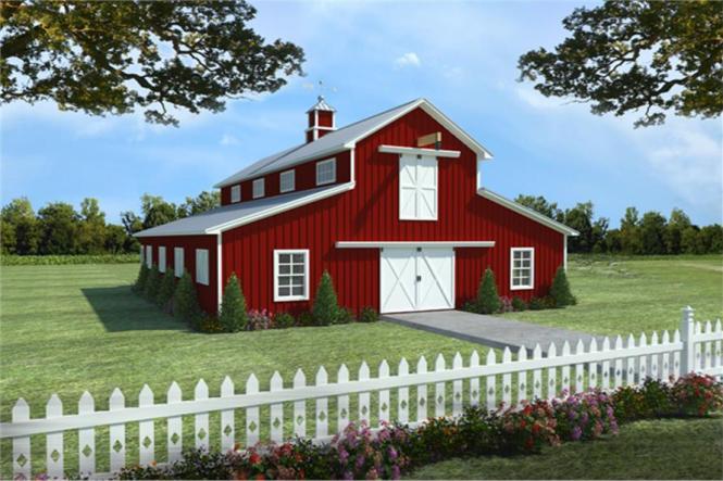 Barn Design With Apartment Floor Plan