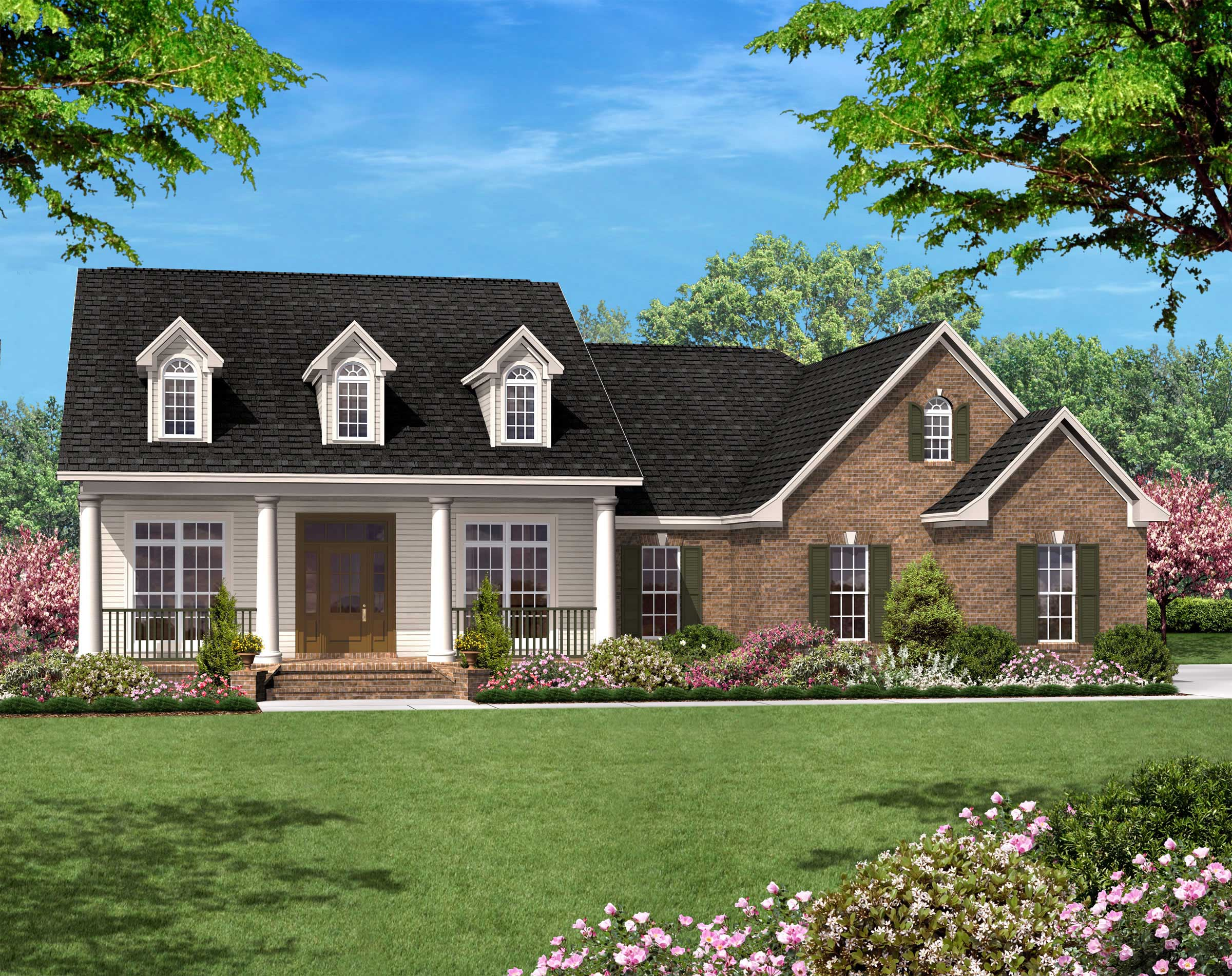 Plans Ranch Style House Open Concept