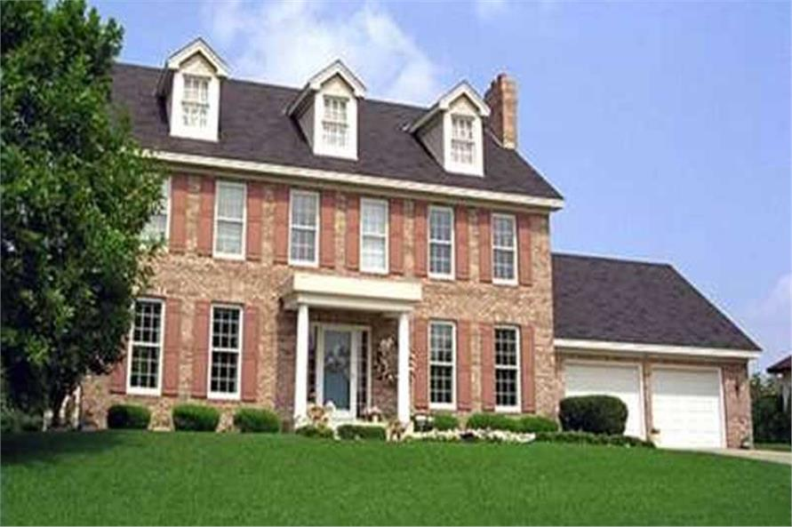 Georgian Colonial House Plans Home Plan 146 2292 TPC