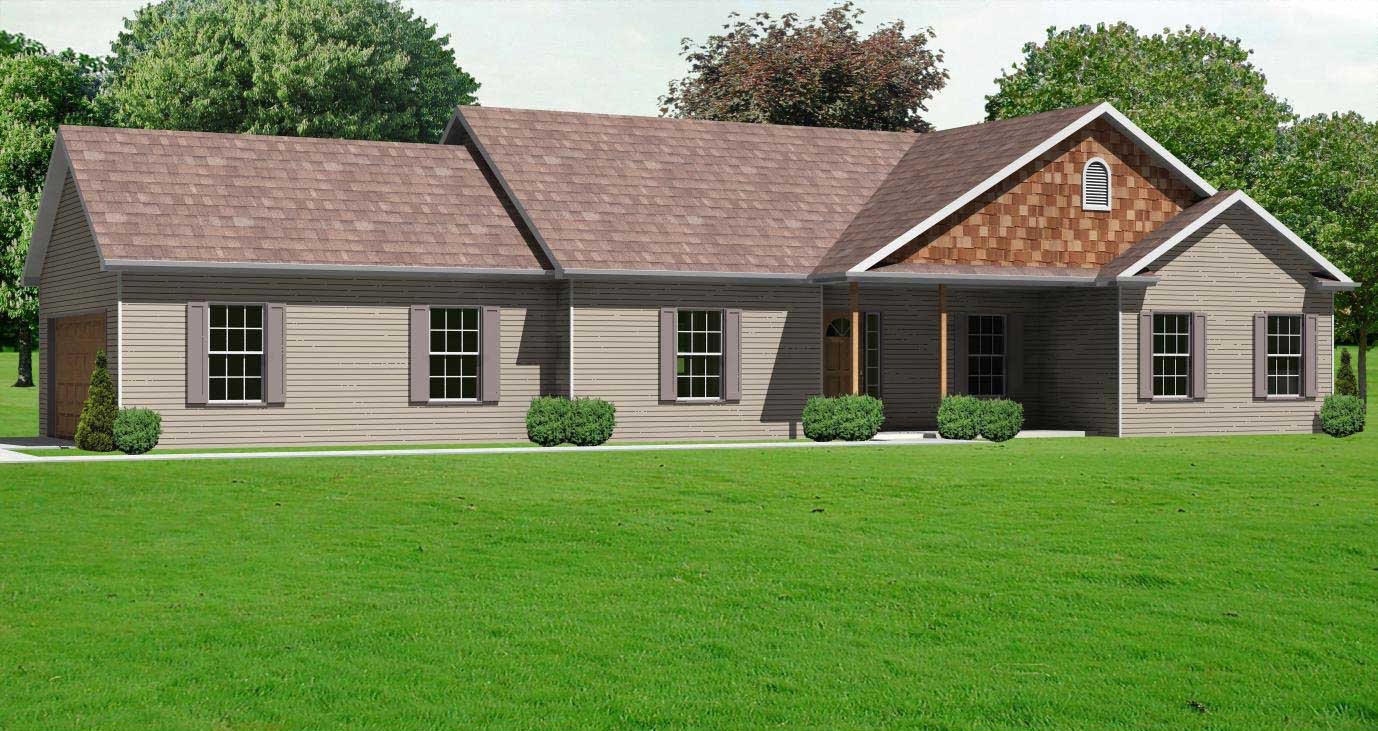 Country House Plan 2 Bedrms 2 Baths 1664 Sq Ft 148 1060