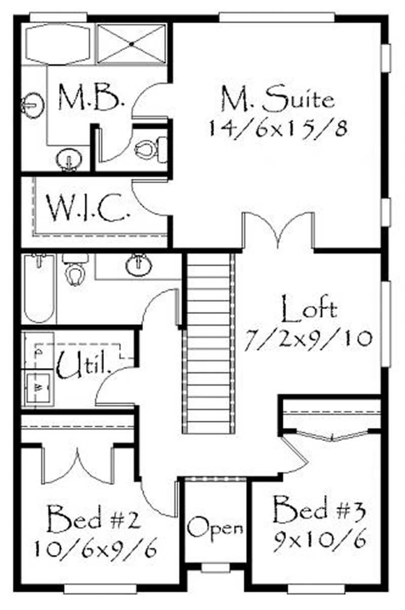 House Plan 149 1194 3 Bedroom 1550 Sq Ft Ranch Country Home TPC M 1550
