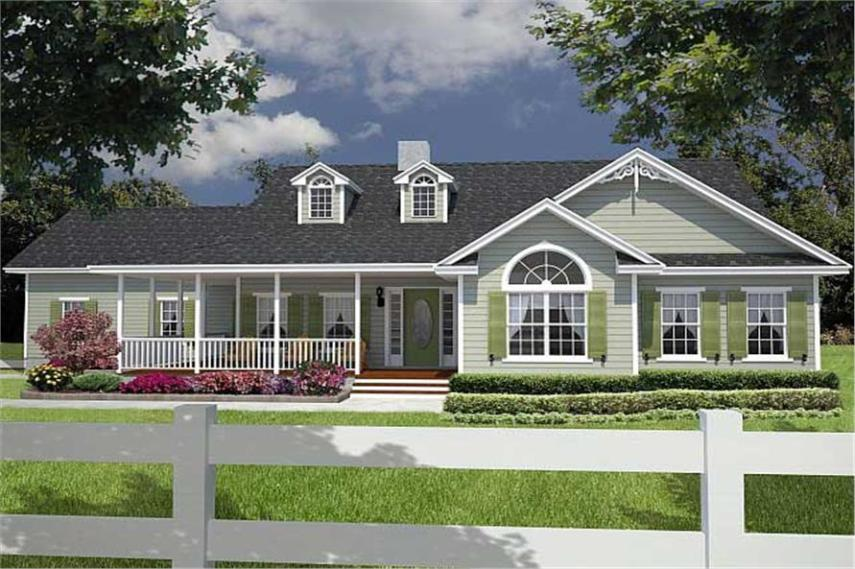 Florida Style Floor Plan   3 Bedrms  2 Baths   1885 Sq Ft    150 1003  150 1003      3 Bedroom  1885 Sq Ft Florida Style House Plan   150 1003
