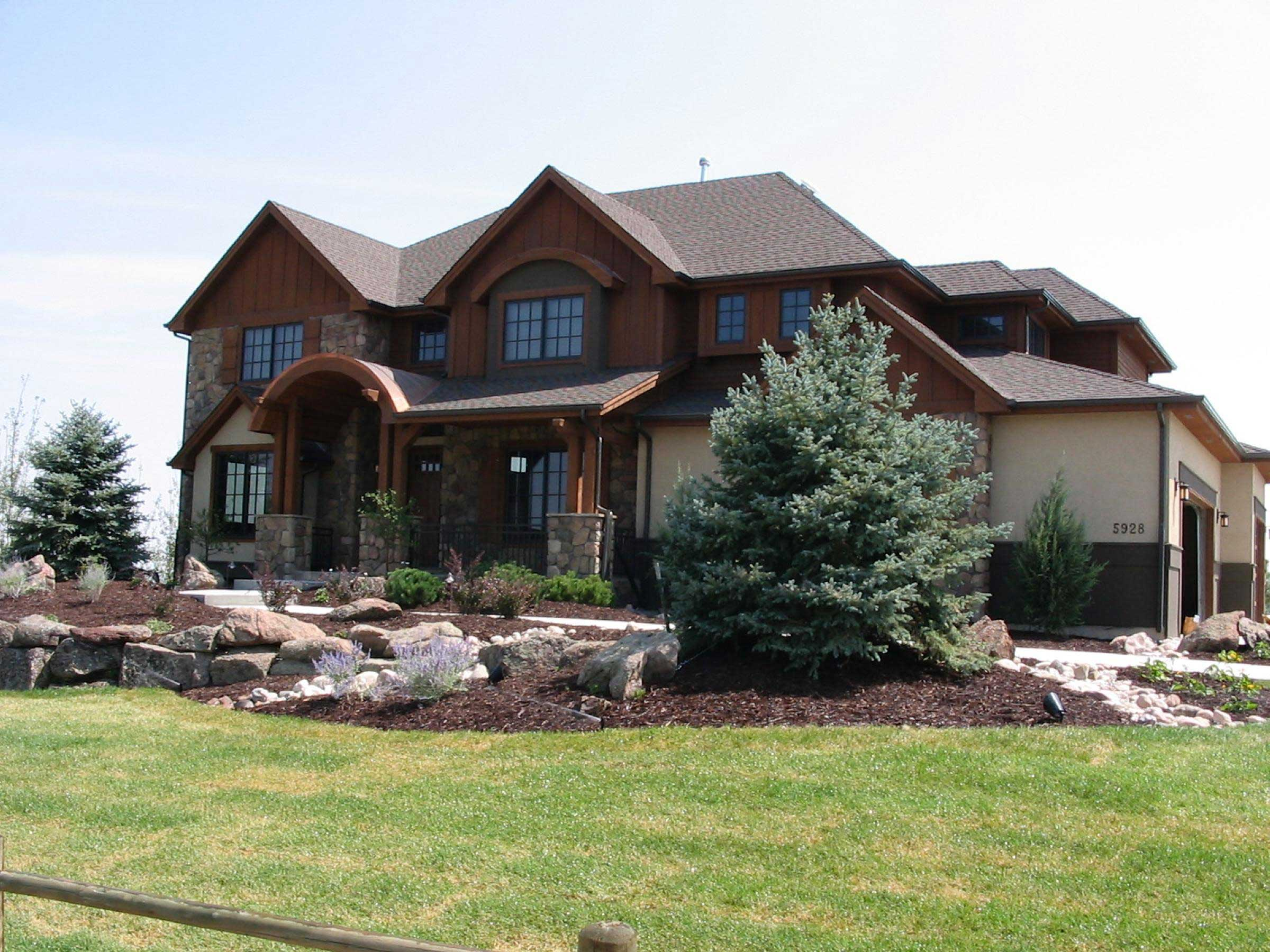 Mountain House Plans Home Design 161 1036