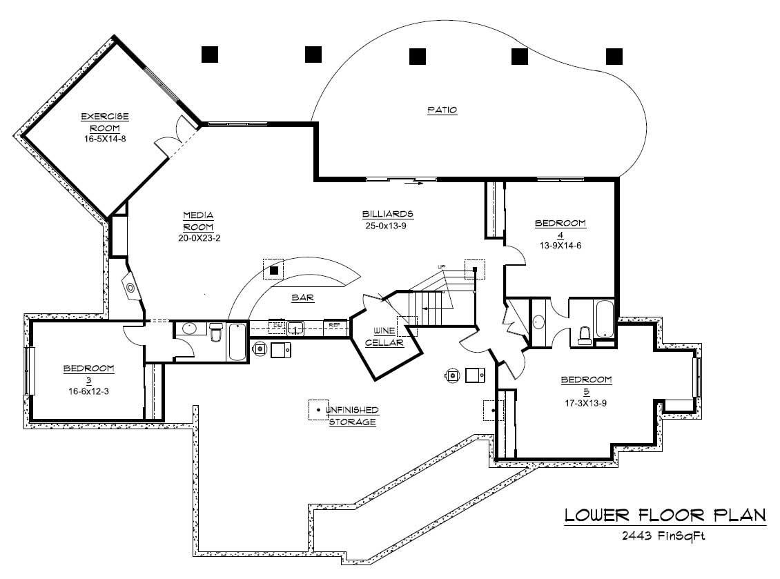 Craftsman House Plan Home Plan 161