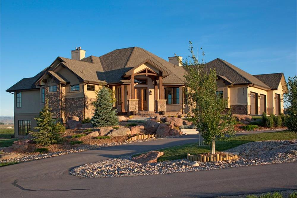 Western Craftsman Home 4 Bedrms 4 5 Baths 4936 Sq Ft