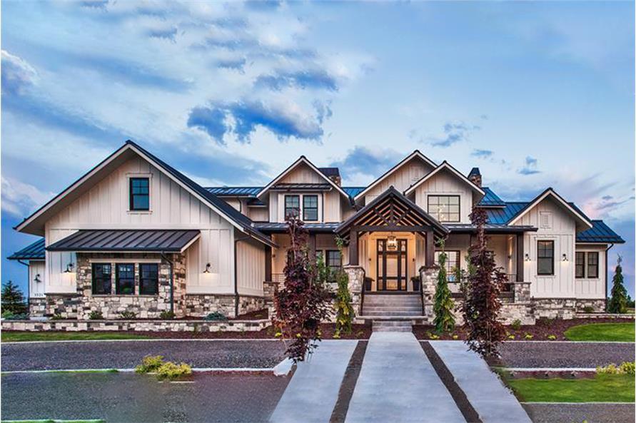 5 Bedrm 4784 Sq Ft Luxury House Plan 161 1075