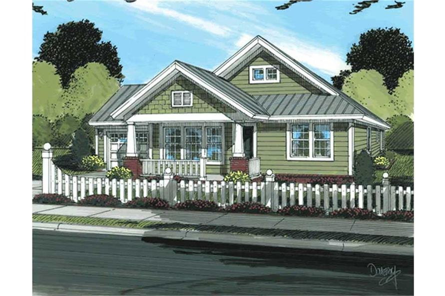 Country House Plan 178 1175 3 Bedrm 1260 Sq Ft Home Plan