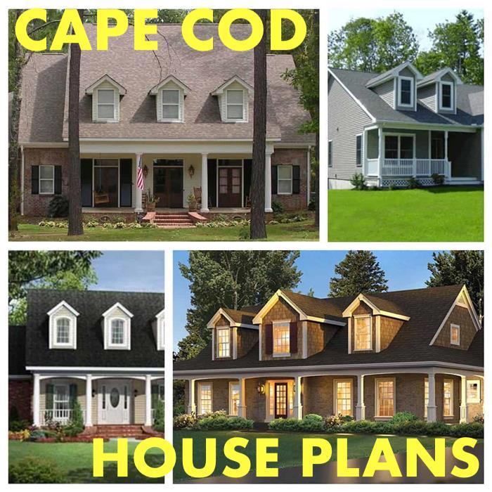 Cape Cod House Plans Traditional Practical Elegant And Much More