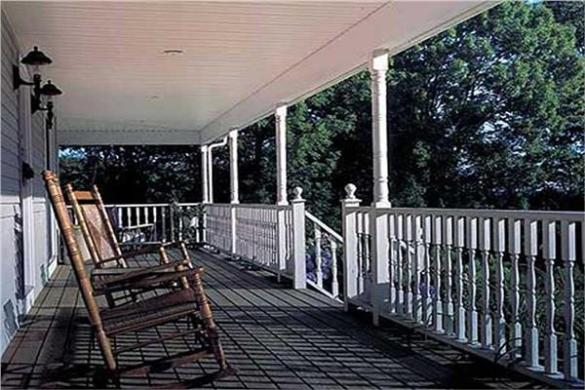 House Plans with Porches   Wrap Around Front Porch Plans House Plans with Porches