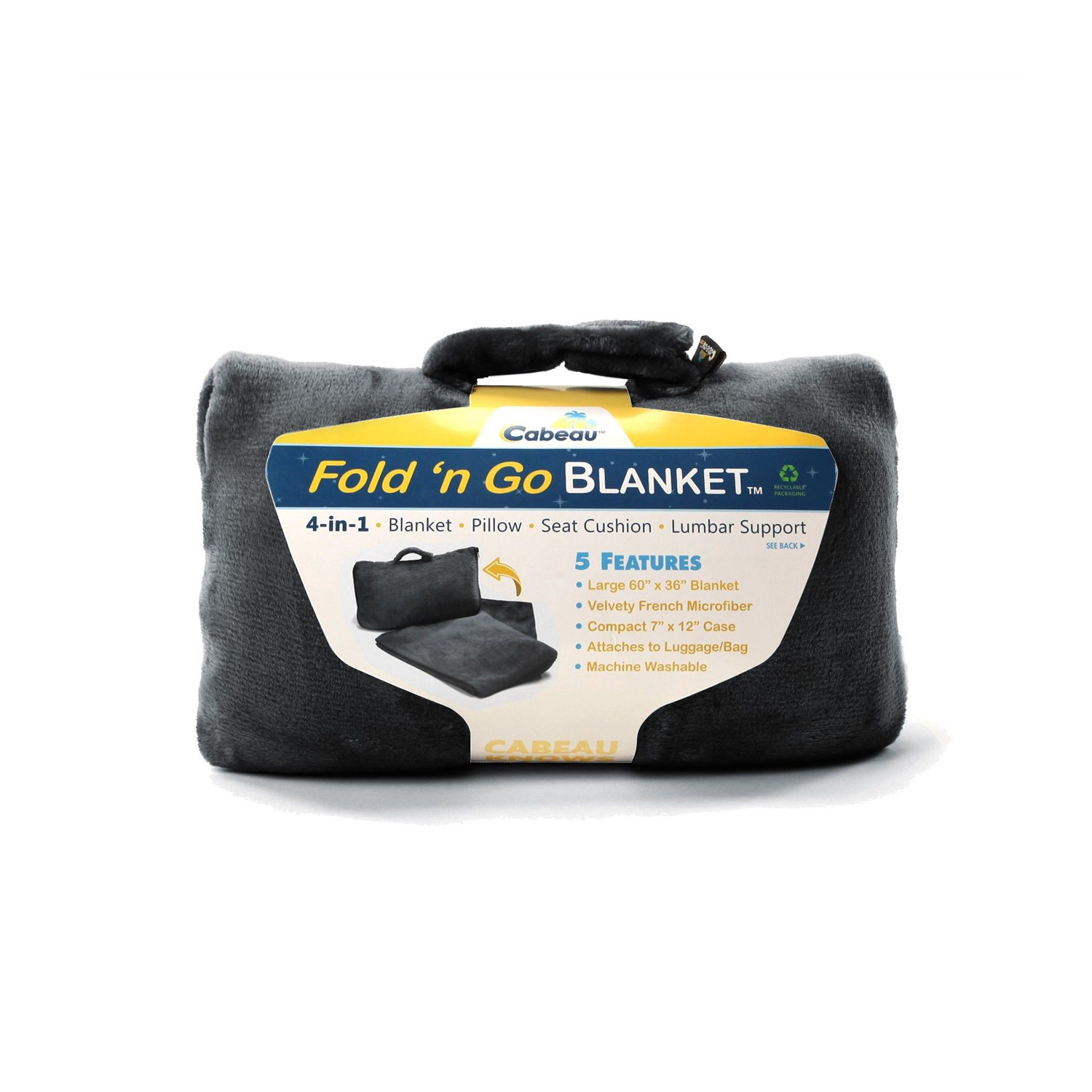 6-in-1 Travel Blanket and Pillow Bag