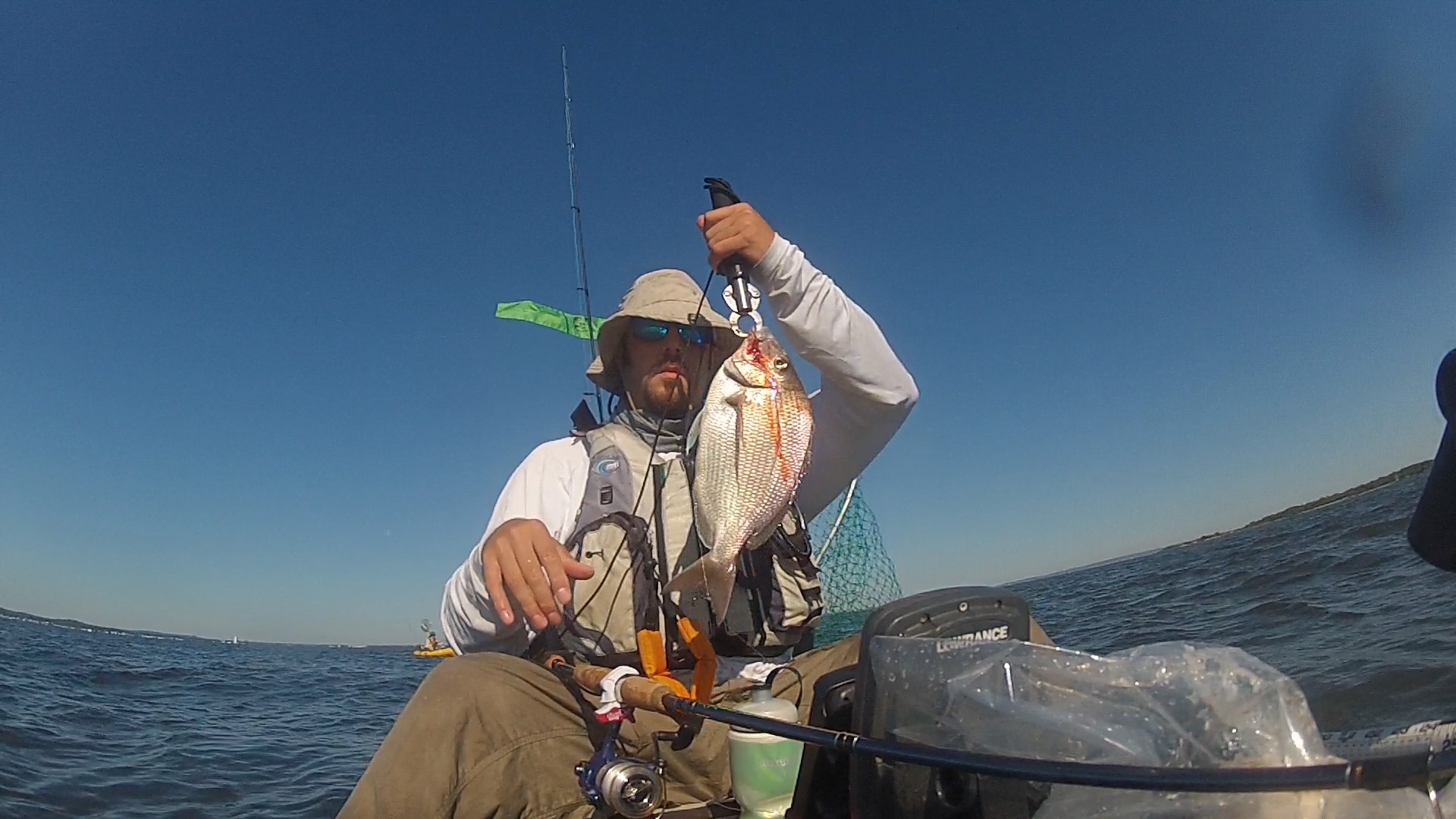 Fishing Sandy Hook Nj For Croakers Spot Porgies The Plastic Hull