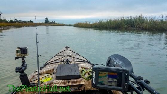 Start of A fourteen hour fishing trip