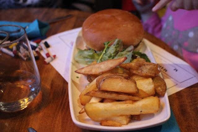 pork burger childrens menu The Cauldron Bristol