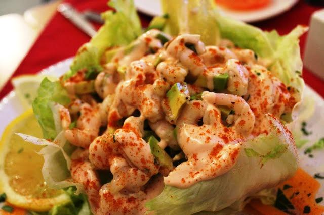 prawn salad Elgano