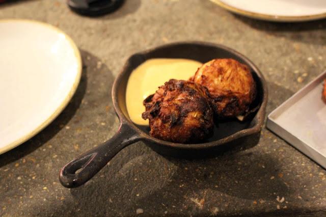 Le Bab bhaji- lamb beef onion