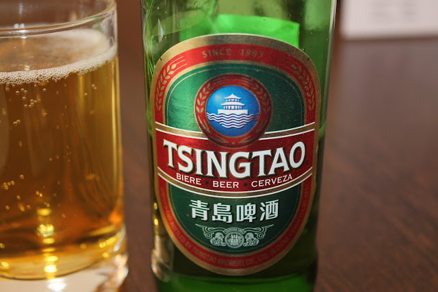 Tsing Tao at Zi's Cafe, Cathays, Cardiff