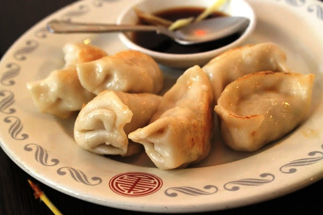 steamed dumplings Zi's Cathays Cardiff