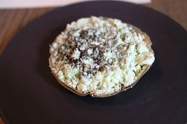 burnt leek tartlet Anglo Farringdon