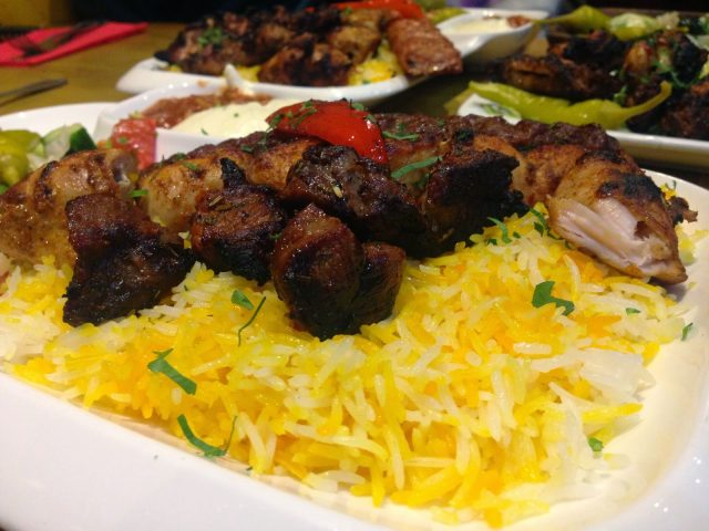 mixed grill La Shish City Road Cardiff