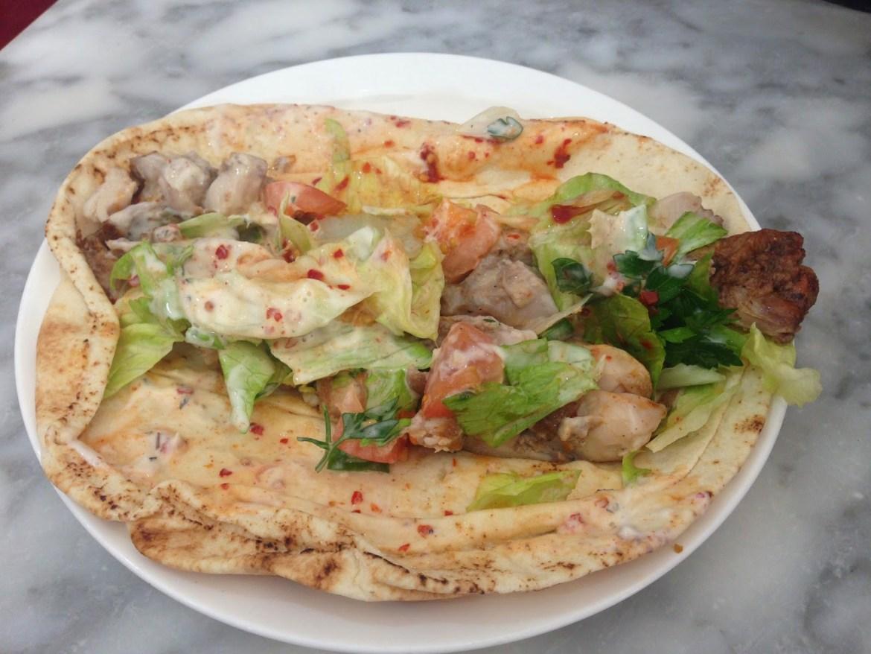 chicken shawarma falafel wales canton cardiff