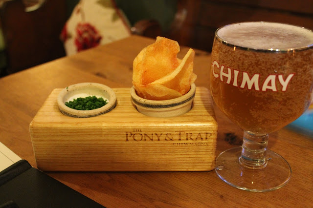 crisps Chimay Pony and Trap