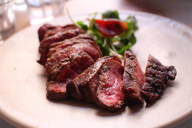 flat iron steak Bookshop Hereford