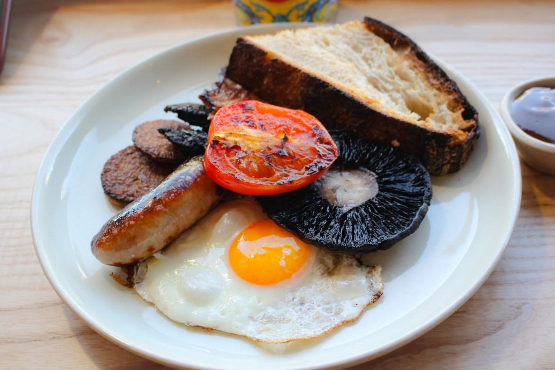 Irish breakfast heaneys uisce cardiff