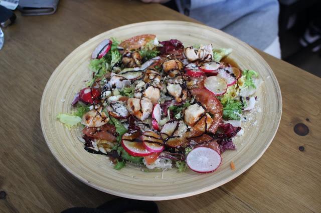 chicken salad souvlike city road cardiff