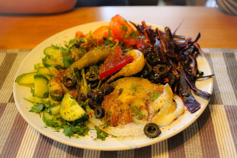salad Falafilo Island Newport