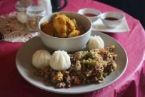 Mugs & Momos vegan/gluten-free café: Samye Foundation, Canton, Cardiff (invitation)