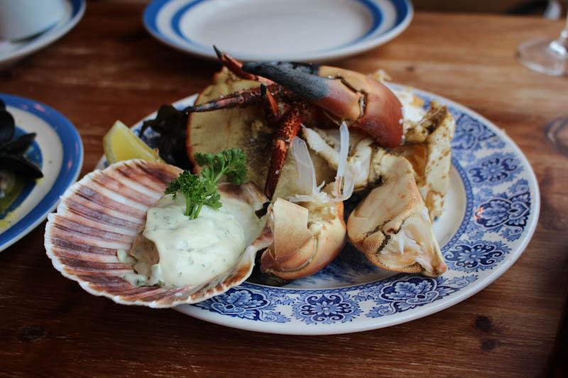 cornish crab scallop shell bath