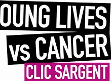 The charity logo is young lives against cancer
