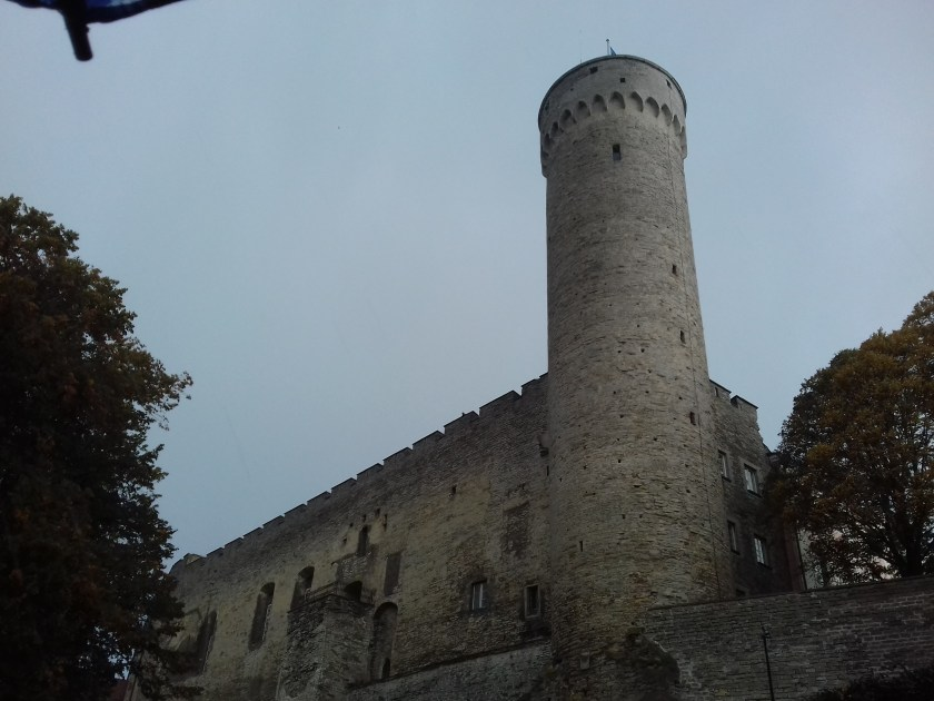 Tall Hermatower is part of Toompea castle and overlooks the city