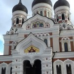 The beautiful Alexander Nevsky cathedral #visitestonia