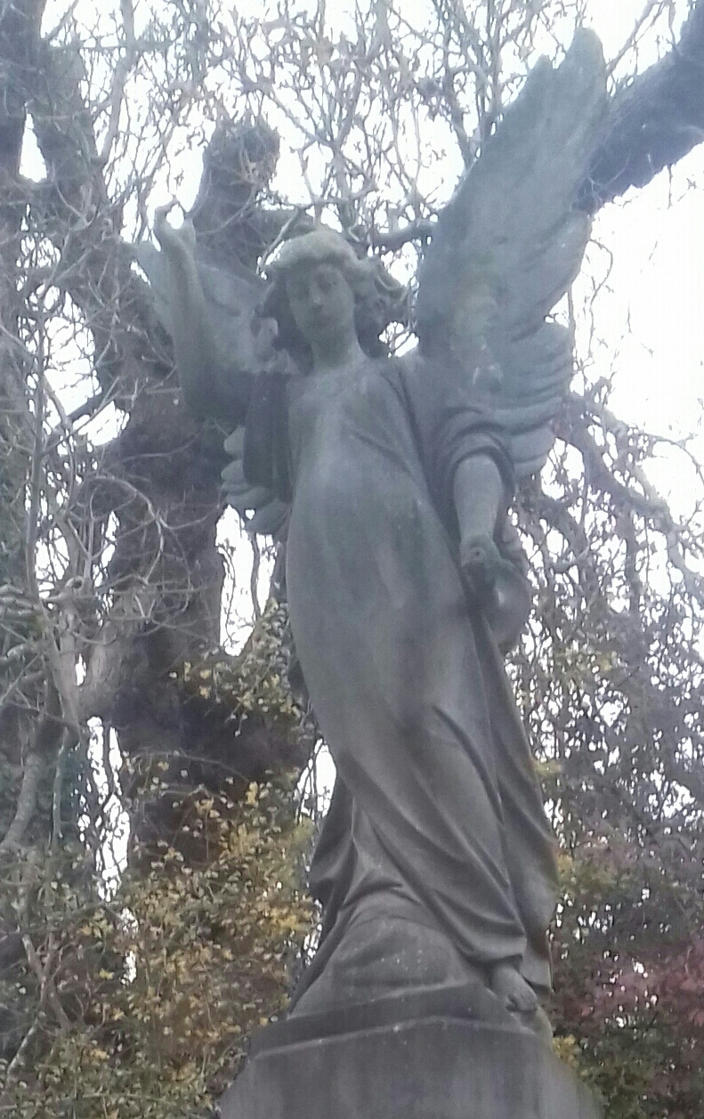 An Angel aat #Arno's vale cemetery