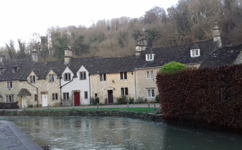 Cottages by the By brook river