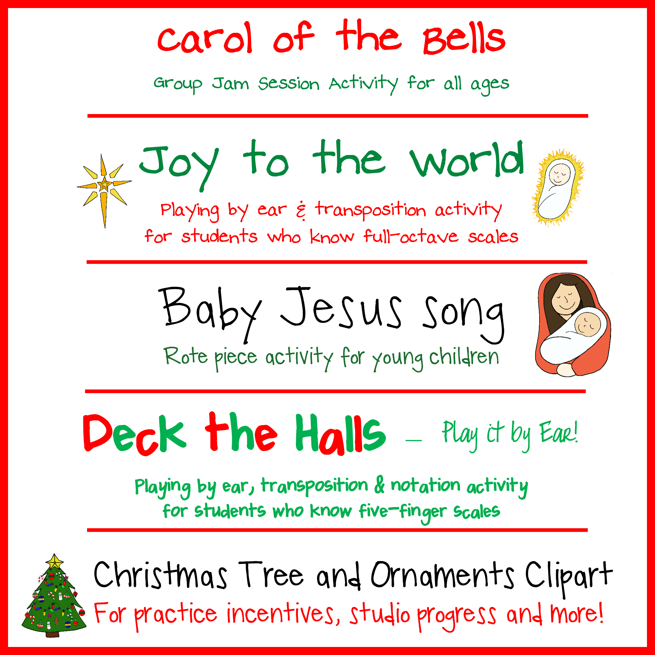 christmas songs with baby in the title